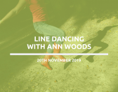 Line Dancing with Ann Wood